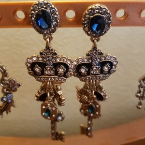 Heritage statement earrings
